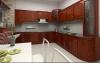 Gỗ giáng hương cho tủ bếp sang trọng, hiện đại