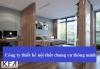 Công ty thiết kế nội thất chung cư thông minh uy tín