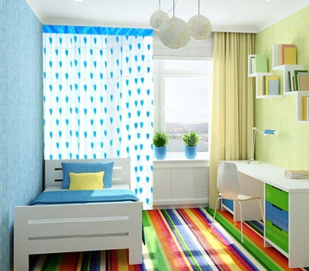 Các thiết kế nội thất cho phòng ngủ mát mẻ vào hè