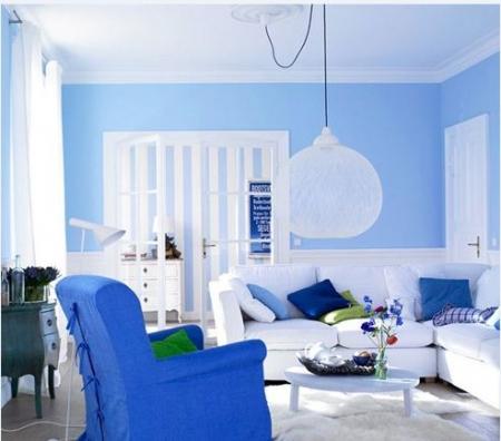 Gam màu chủ đạo cho các thiết kế nội thất vào hè