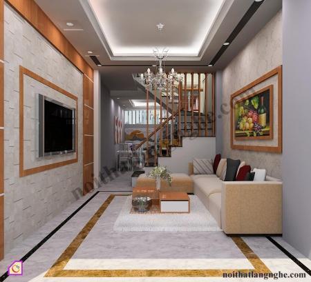 Thiết kế và thi công nội thất nhà chị Hà