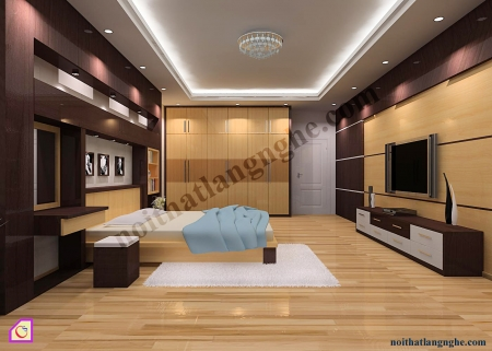 Thiết kế và thi công nội thất nhà anh Hùng