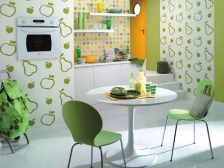 Sử dụng giấy dán tường hiệu quả cho trang trí bếp