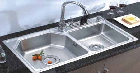 Chọn vật liệu bền cho bồn rửa trong bếp