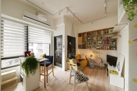 Ý tưởng thiết kế cho căn hộ nhỏ hẹp của nhà chị Linh