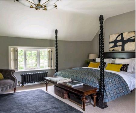 Những thiết kế độc đáo cho phòng ngủ hiện đại