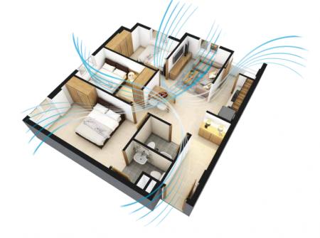 Cải thiện chung cư phù hợp với phong thủy