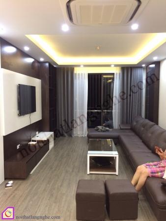 Thiết kế và thi công nội thất nhà chị Trang
