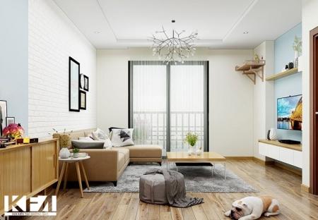 Những khó khăn khi thiết kế nội thất chung cư 2 ngủ