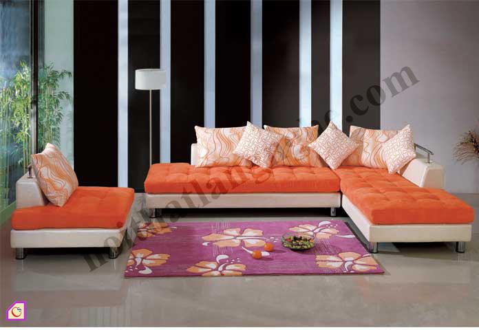 Sofa nỉ khung inox SFN_03