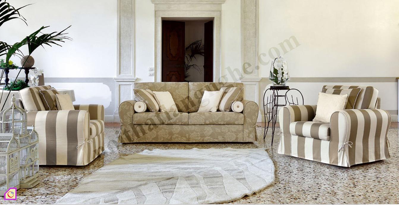 Sofa nỉ phong cách châu âu SFN_11