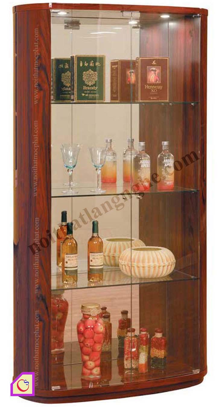 Tủ rượu gỗ Hương TR_13