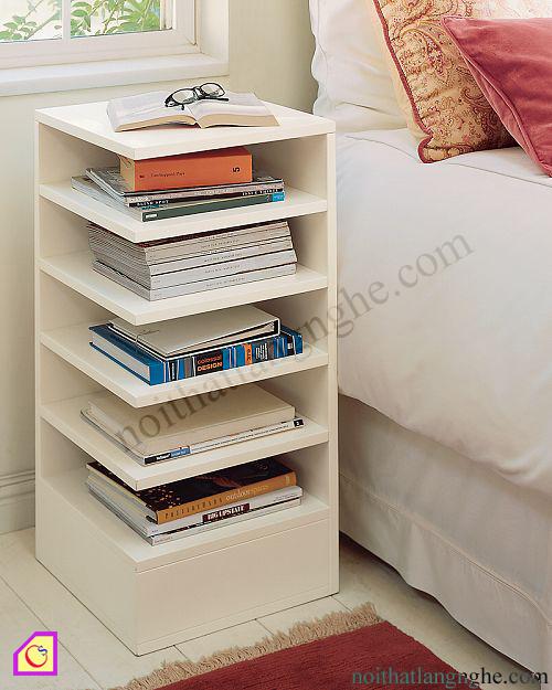 Tủ đầu giường kết hợp giá sách TDG_50