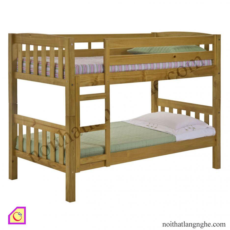 Giường tầng gỗ Xoan GT_23