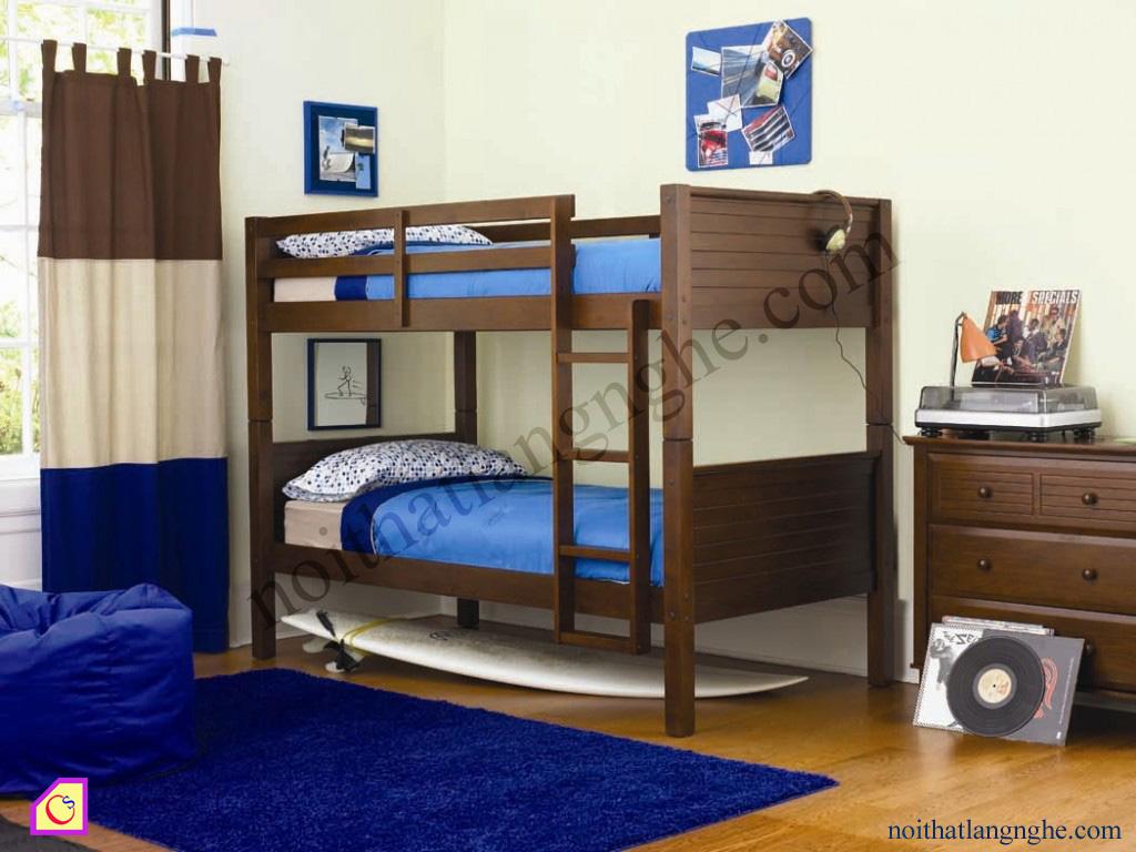 Giường tầng gỗ Gụ GT_34