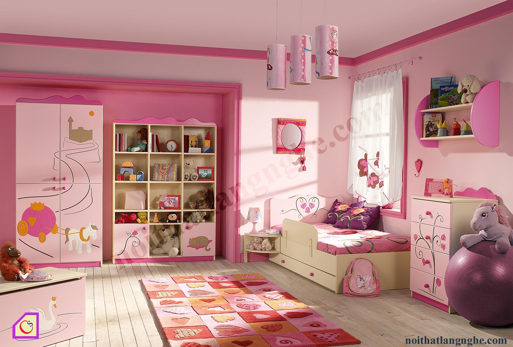 Bộ phòng ngủ cho bé PNT_21