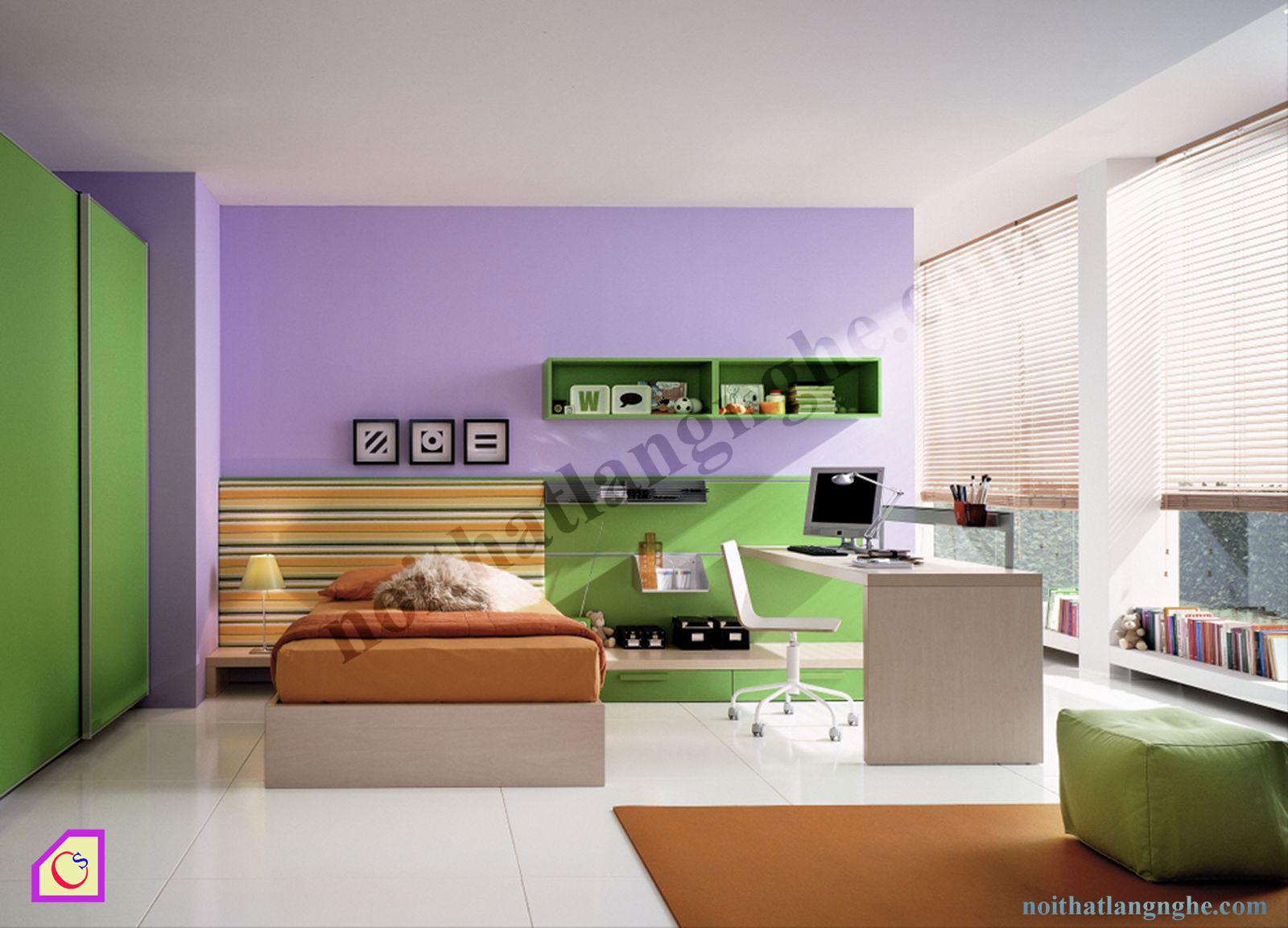 Bộ phòng ngủ trẻ em PNT_33