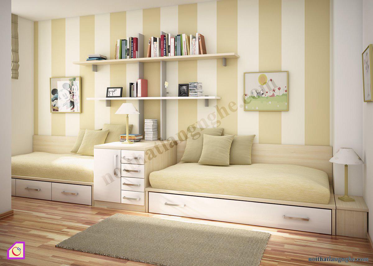 Bộ giường ngủ cho bé PNT_37
