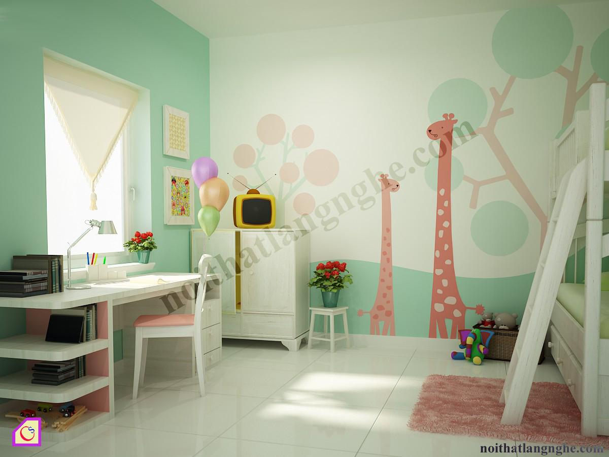 Bộ phòng ngủ trẻ em PNT_40