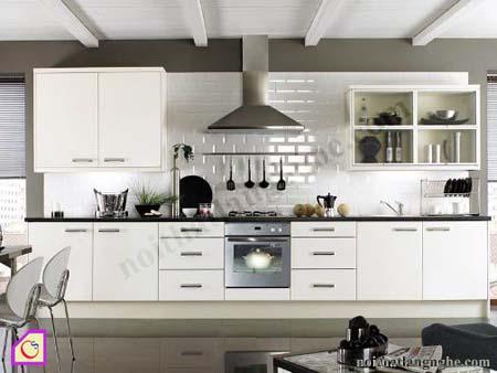 Tủ bếp Laminate dạng chữ I TBI_21