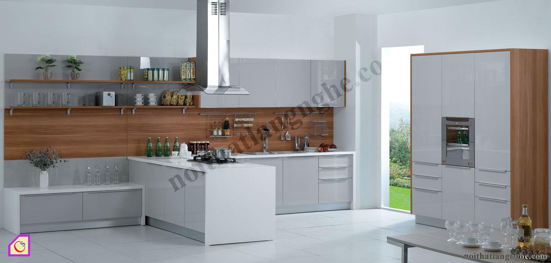 Tủ bếp Melamine dạng chữ I TBI_26