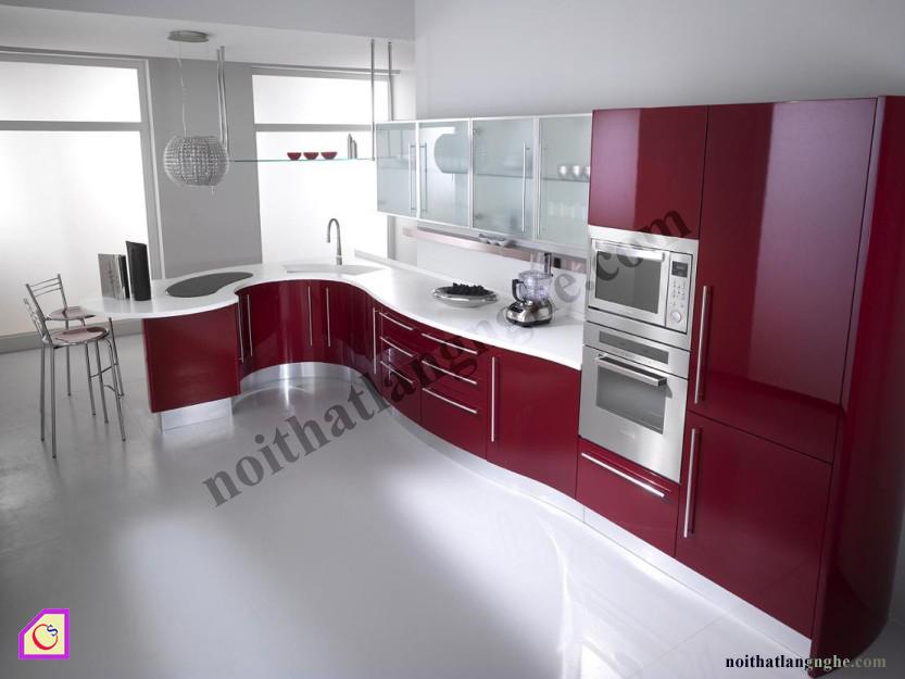 Tủ bếp Laminate dạng chữ L TBL_35