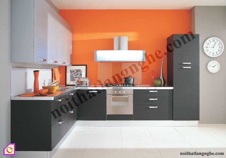Tủ bếp Laminate dạng chữ L TBL_39