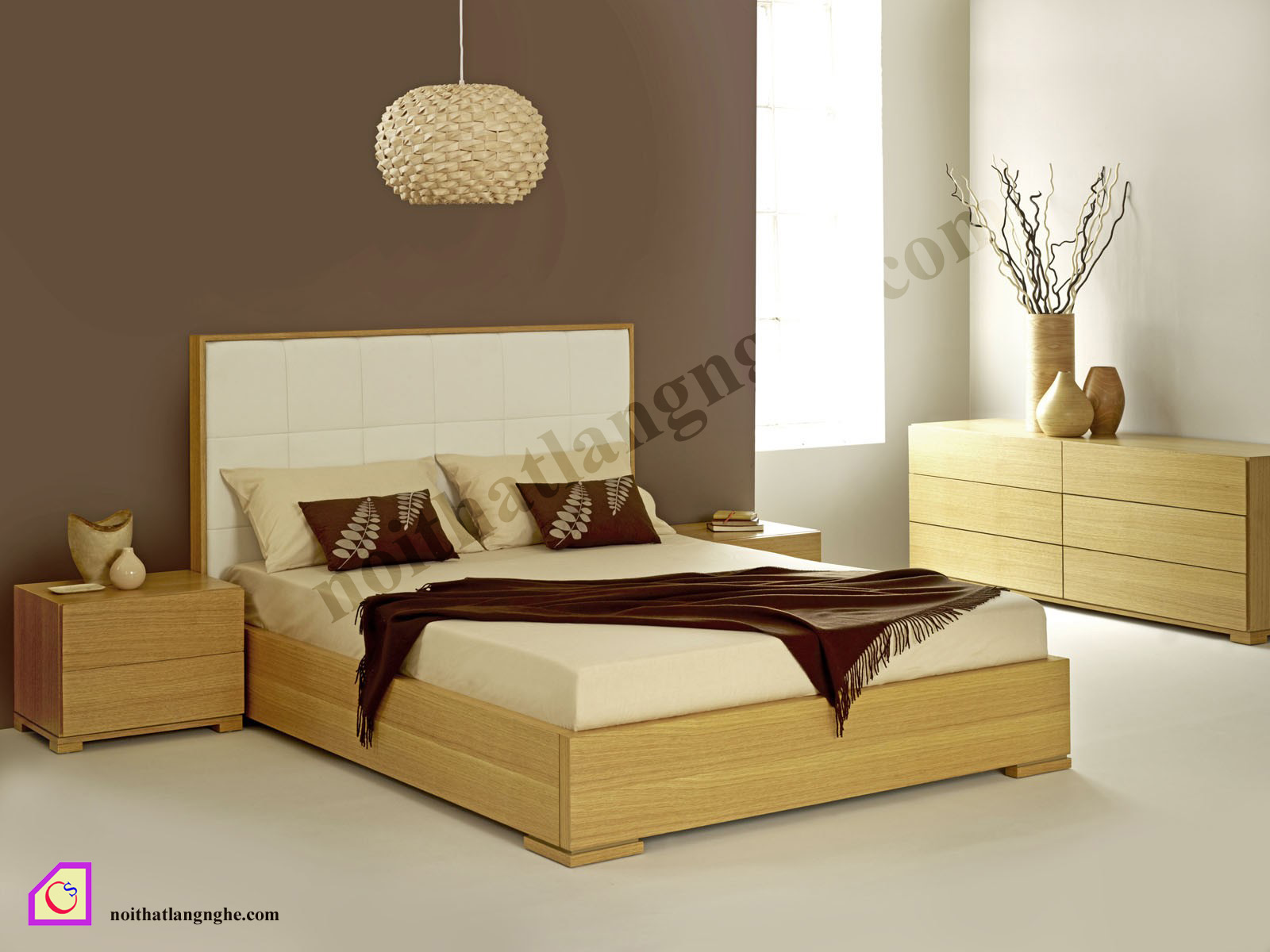 Giường ngủ Melamine GN_33