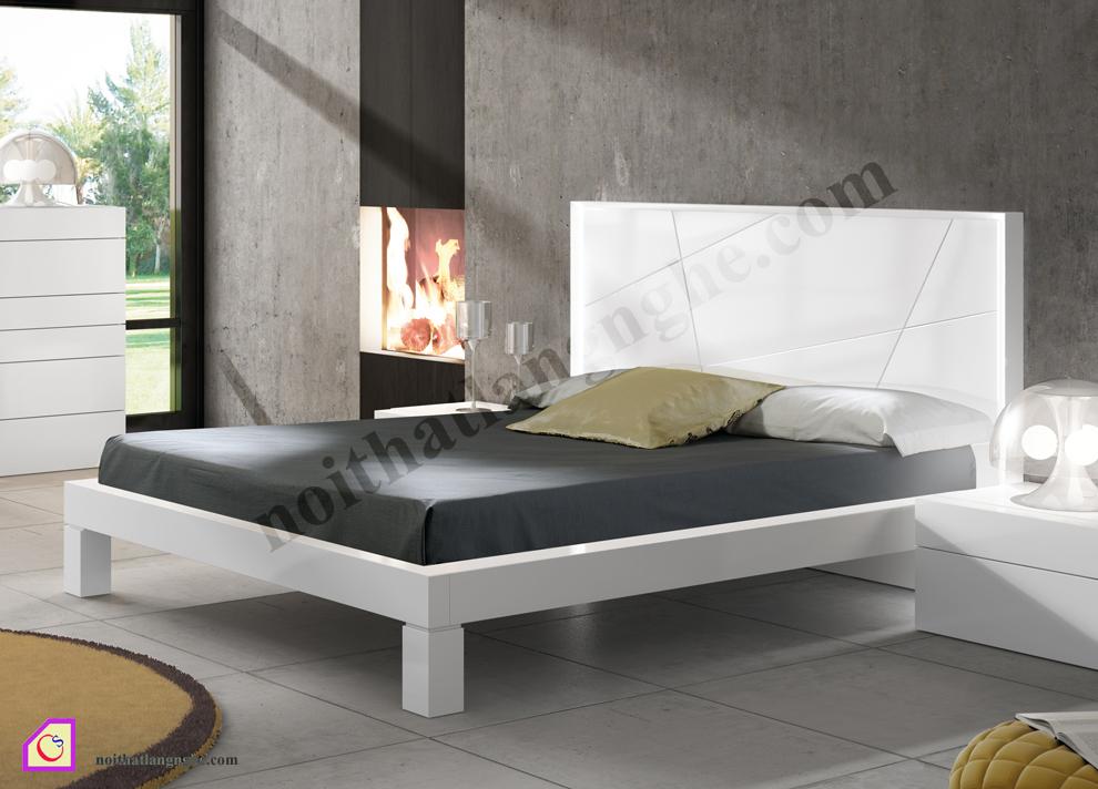 Giường ngủ Laminate hiện đại GN_44