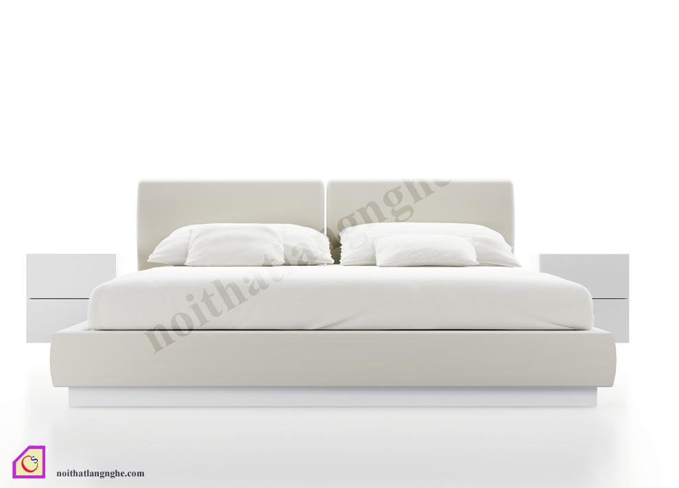 Giường ngủ bọc nỉ GN_45