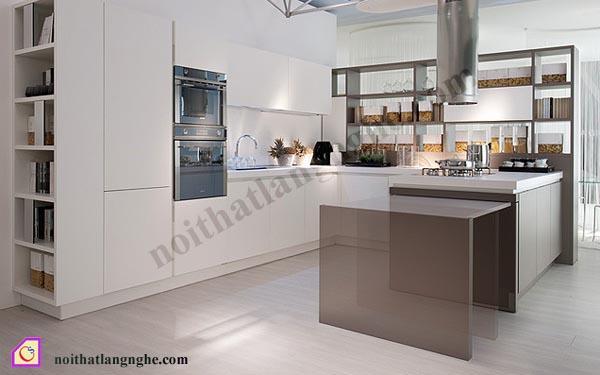 Tủ bếp Laminate dạng chữ U TBU_25