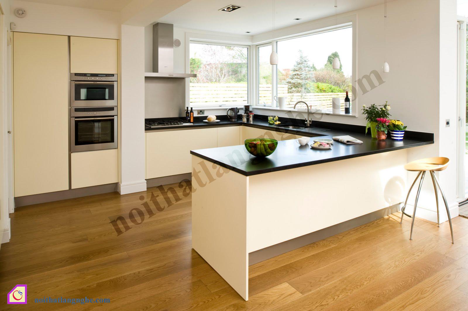 Tủ bếp Laminate dạng chữ U TBU_31