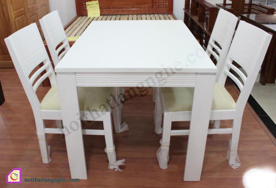 Bộ bàn ghế ăn 4 ghế gỗ Sồi BGA_02