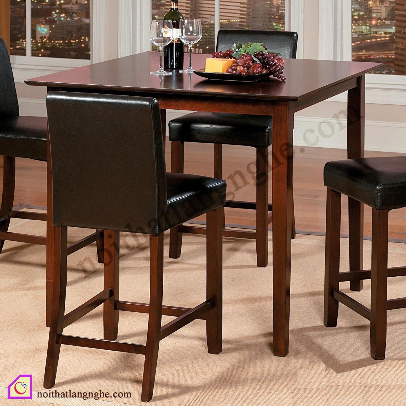 Bàn ghế ăn phong cách Tây Âu BGA_04