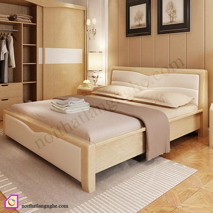 Giường ngủ gỗ Sồi GN_51