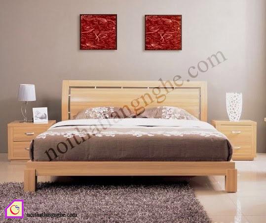 Giường ngủ gỗ Sồi Mỹ GN_54