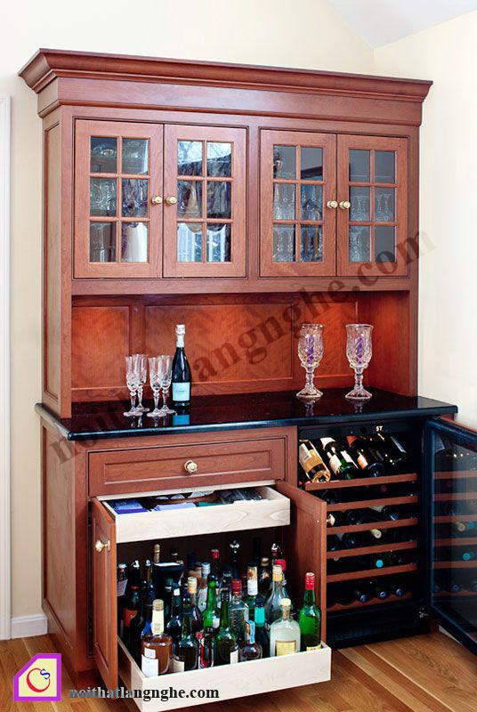 Tủ rượu gỗ TR_15