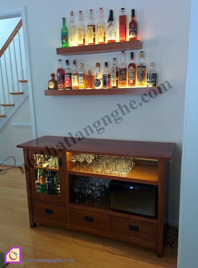 Tủ rượu gỗ TR_40