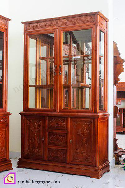 Tủ rượu gỗ Hương TR_60