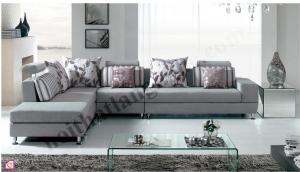 Sofa:Sofa nỉ khung inox SFN_01