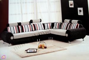 Sofa nỉ khung inox SFN_12