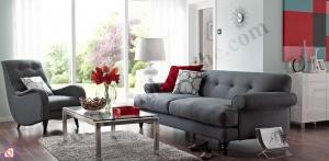 Sofa nỉ khung gỗ Lim SFN_14