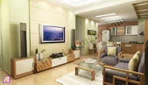 Mẫu phòng khách đẹp năm 2012