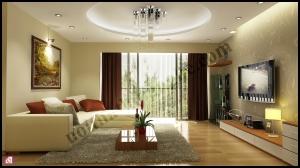 Mẫu phòng khách đẹp năm 2013 thiết kế tại Nội thất Chàng Sơn