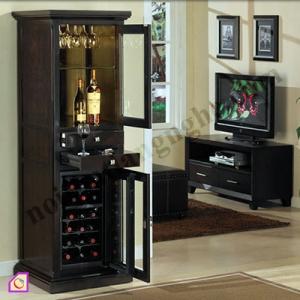 Nội thất phòng khách:Tủ rượu hiện đại và tiện dụng TR_03