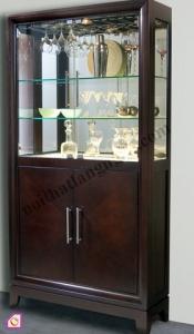 Nội thất phòng khách:Tủ rượu gỗ gụ TR_09