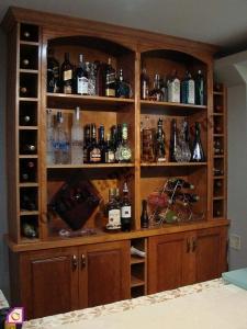 Nội thất phòng khách:Tủ rượu TR_12
