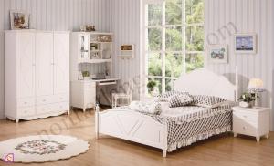 Nội thất phòng ngủ:Bộ giường ngủ phong cách châu âu GN_02