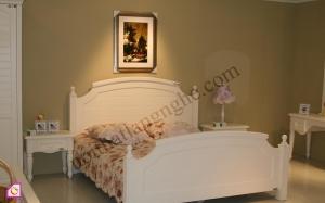 Nội thất phòng ngủ:Bộ giường ngủ phong cách châu âu GN_17