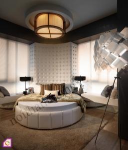 Nội thất phòng ngủ:Giường ngủ châu âu GN_20